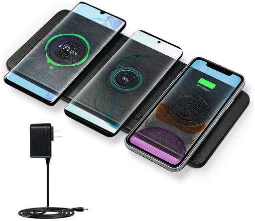 JE  Wireless Charging Power Station : Charges multiple phone or devices at once.