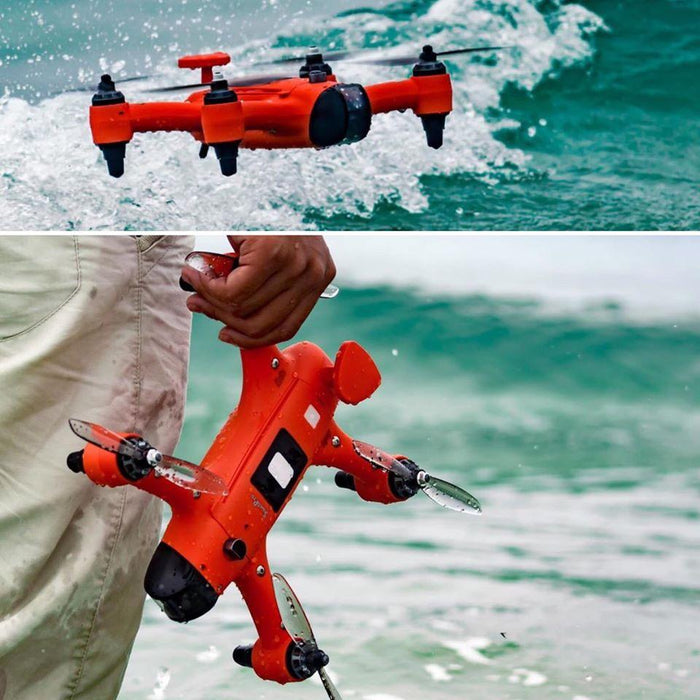 SPRY + FISHING DRONE : Water resistant & floating drone with fishing release