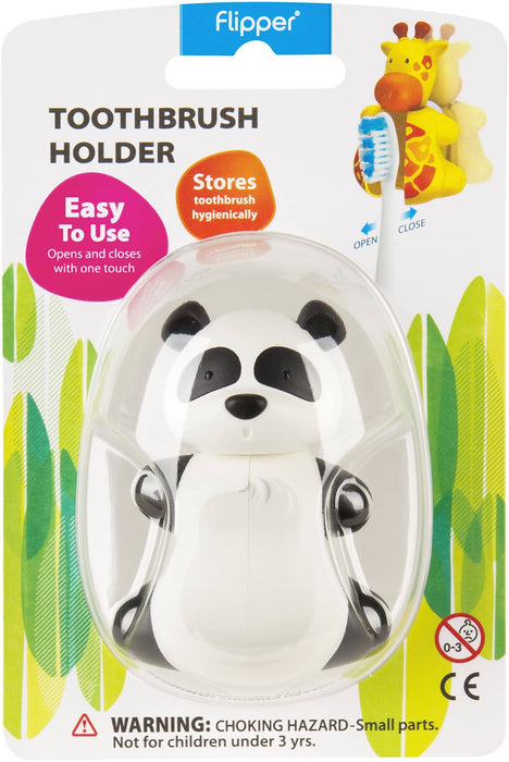 Flipper PANDA Children's Toothbrush holder 12 month warranty applies Flipper
