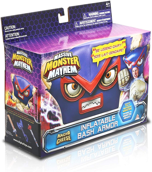 Massive Monster Mayhem Inflatable Toy Bash Armour - MACHO CHEESE