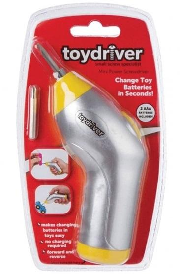 Toy Driver Mini Electric Screwdriver - Change Toy Batteries in Seconds! 12 month warranty applies Tech Outlet