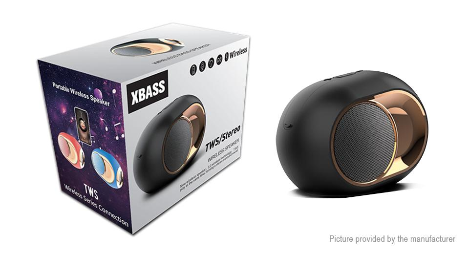 Premium Speaker System with XBass - Innovative & High Power in a compact size BLACK