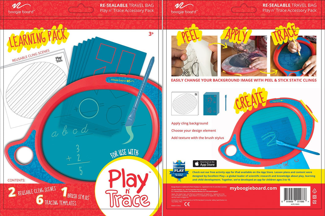 Boogie Play n' Trace - Play, Learn, Create & Trace! 3 month warranty applies Boogie Board