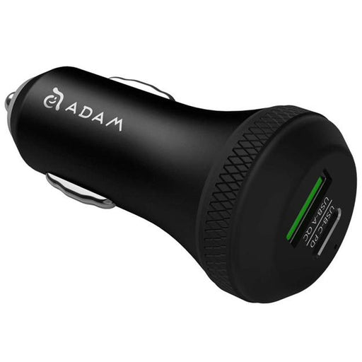 Adam Elements Omnia C1 USB-C/ USB-A Car charger 12 month warranty applies Adam Elements
