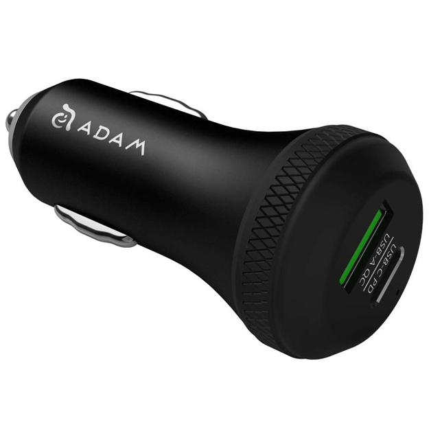 Adam Elements Omnia C1 USB-C/ USB-A Car charger