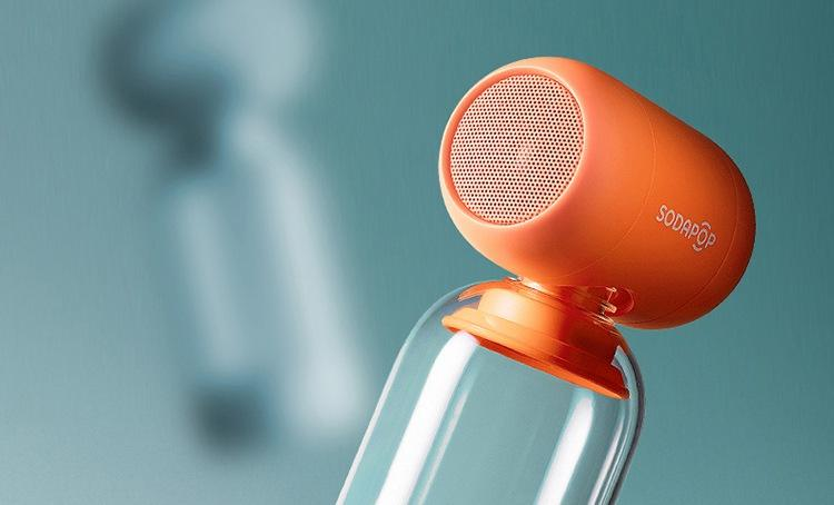 SodaPOP 360 degree Speaker - Turns any Plastic Fizzy Drink bottle into a Speaker!