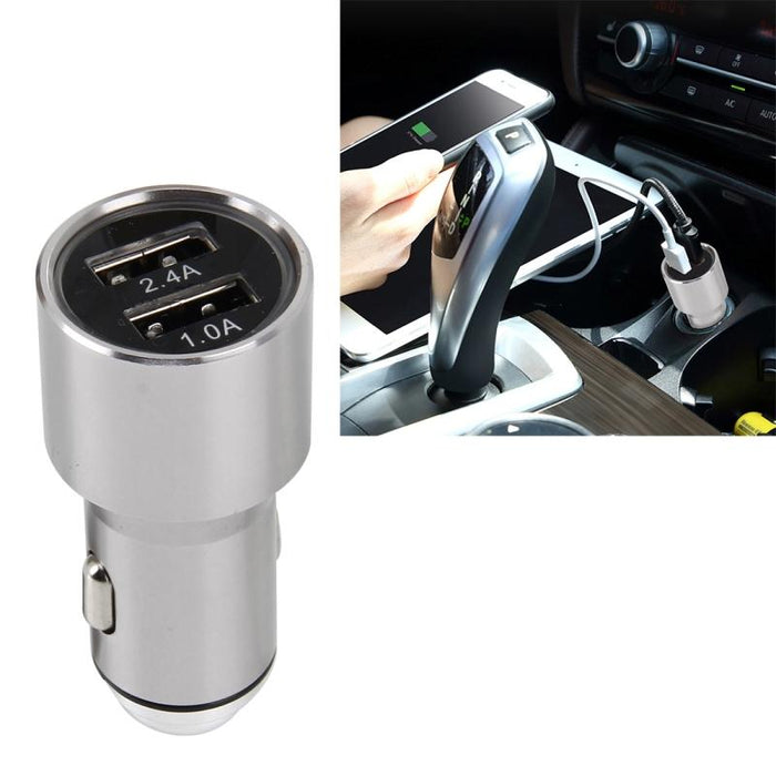 Twin USB Port 12V Car Charger 12 month warranty applies Tech Outlet