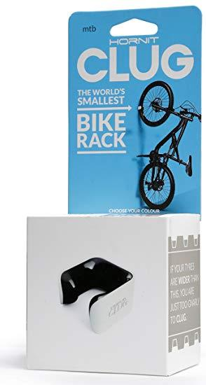 "CLUG The Worlds Smallest Bike Rack - Mountain Bike ""MTB"" : fits tyres 44mm-57mm 12 month warranty applies Hornit"