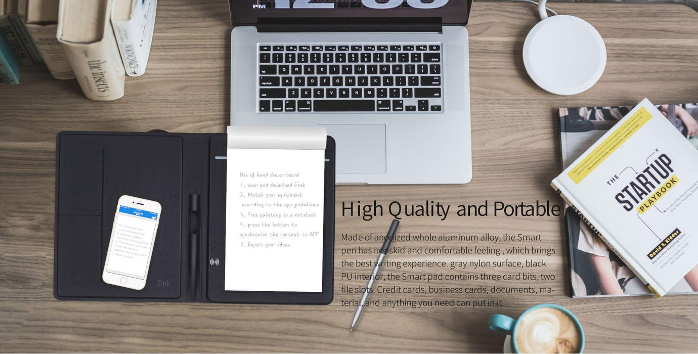 Smart Pad - Natural Writing Digital Writing Pad - Grey