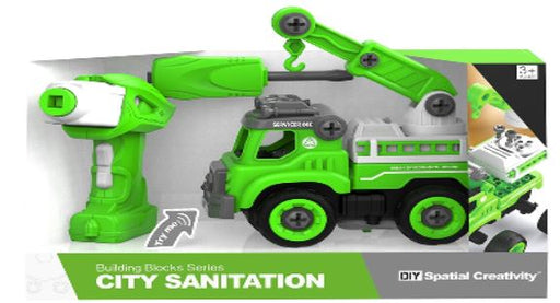RC Truck DIY Construction Set - City Rubbish Truck 3 month warranty applies Tech Outlet