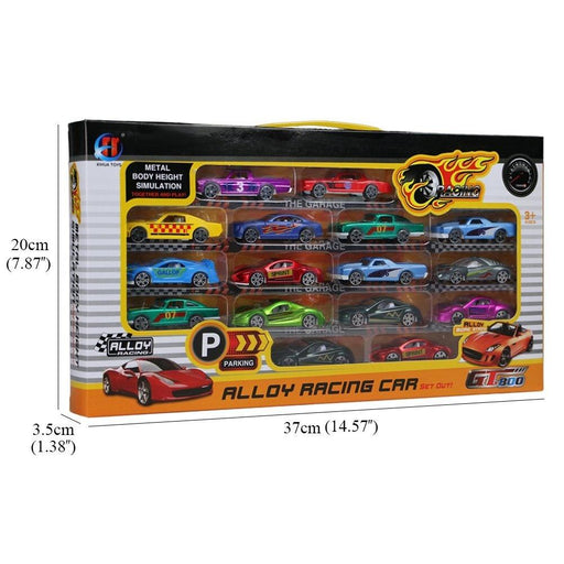 Car model set 16pcs