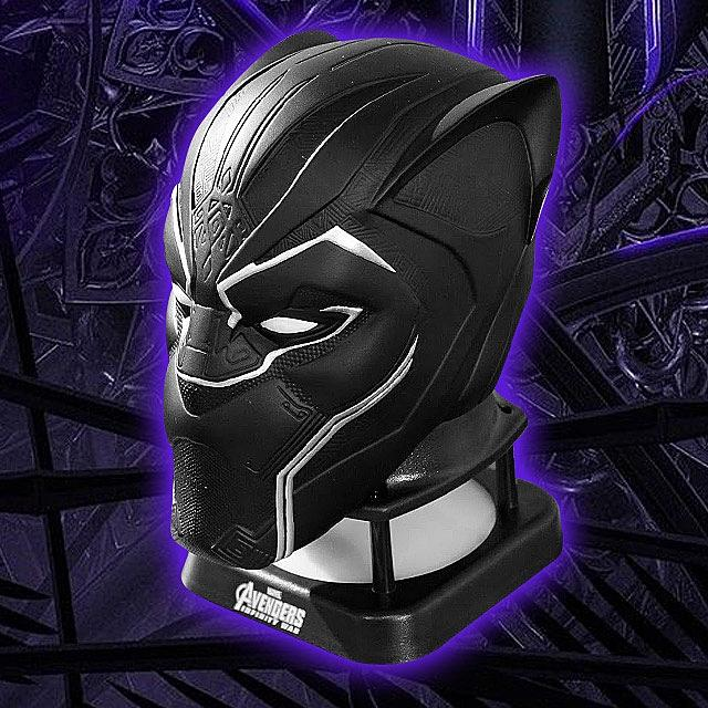 Avengers Black Panther Mini Bluetooth Speaker - Marvel 12 month warranty applies Avengers