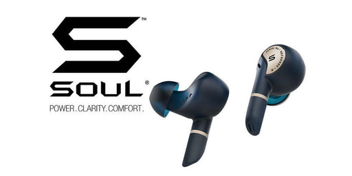 Soul Sync PRO : True Wireless Earbuds 12 month warranty applies Tech Outlet