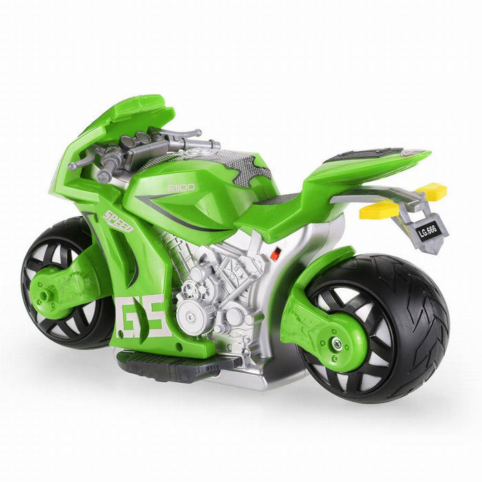 Motorcycle With Awesome Controller ex sample 3 month warranty applies Tech Outlet Green