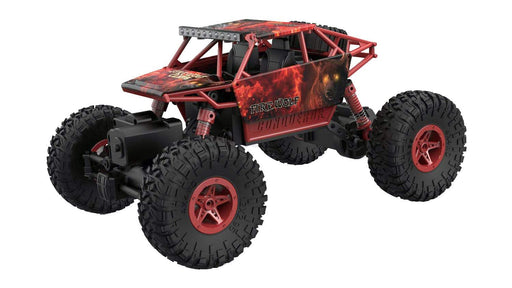 HB Toys Rock Crawler RC 4WD Off Roader Car Red 3 month warranty applies Tech Outlet