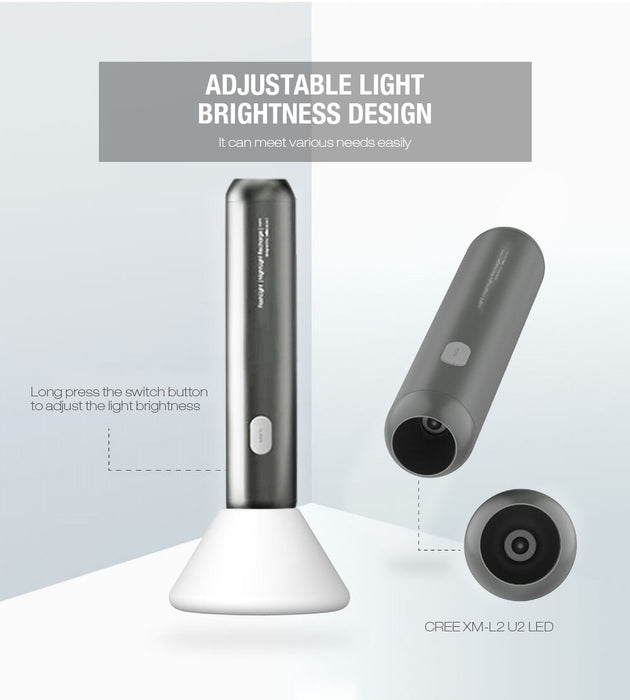 Allocacoc All-in-One Flashlight & Night Light 12 month warranty applies Allocacoc