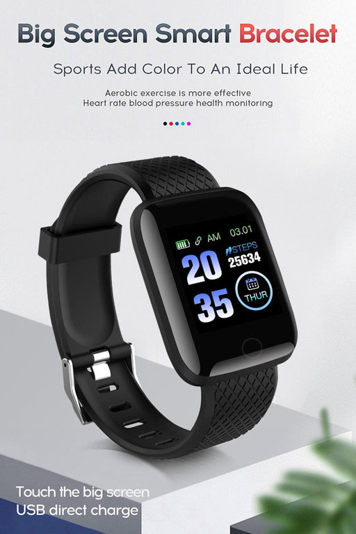 Smart Watch - your fitness & health monitor (sample) 12 month warranty applies Tech Outlet