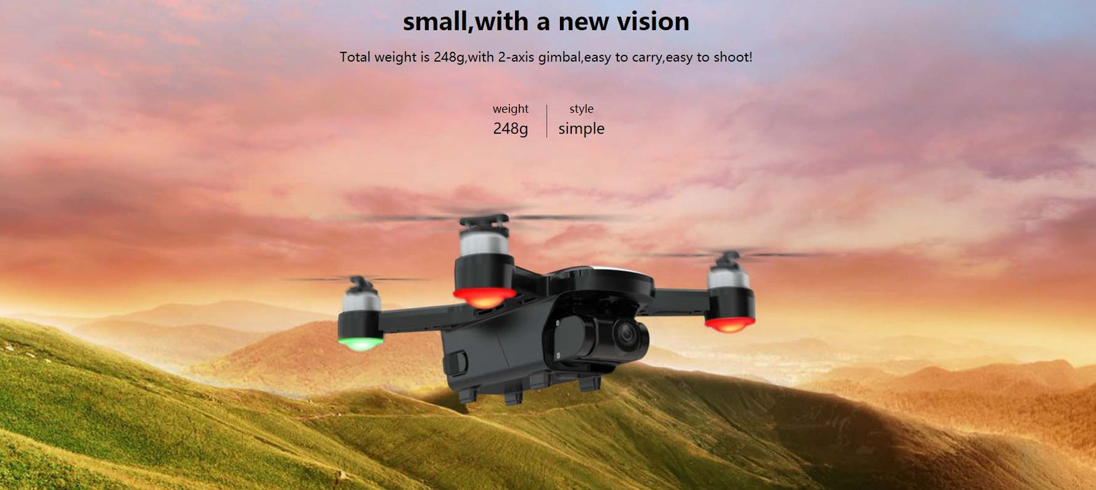 C-Fly Dream (Latest 2021 Model) with 4K Camera & Stabilized Gimbal for buttery smooth video 12 month warranty applies Tech Outlet