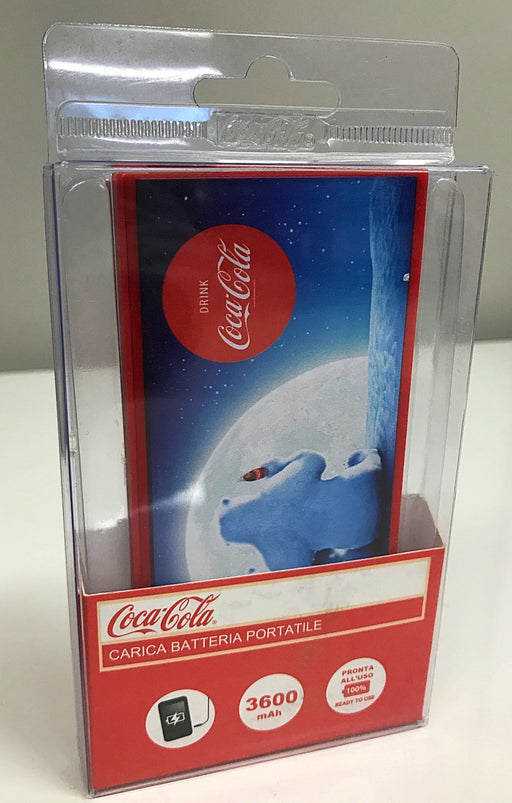 Coca Cola Slim Power Bank 3600 mAh -  Polar Bear