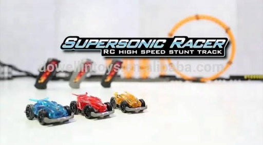 Supersonic Racer High Speed RC Stunt Car - Red 3 month warranty applies Tech Outlet