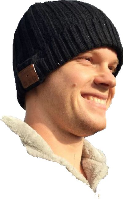 Bluetooth Beanie with Wireless music streaming 12 month warranty applies JCMatthew