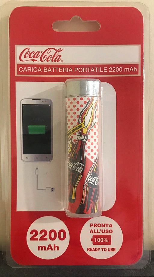 Coca Cola Power Bank 2200 mAh