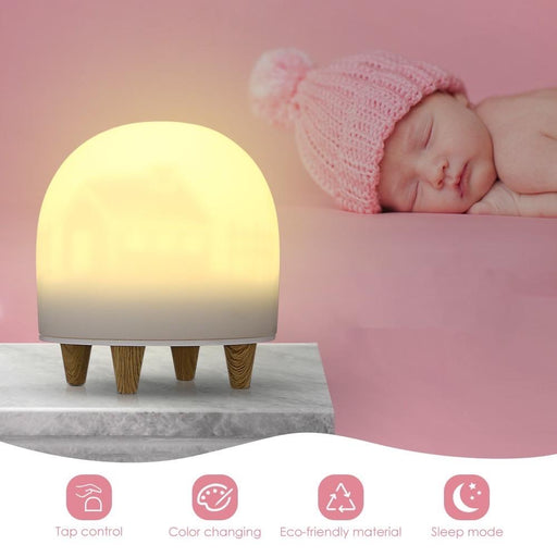Babe - Child's soft-touch Night Light 12 month warranty applies Tech Outlet