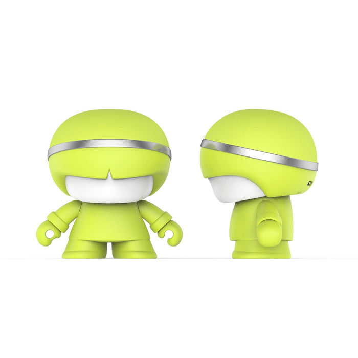 Xoopar Mini Boy Bluetooth Speaker 12 month warranty applies Xoopar Lime
