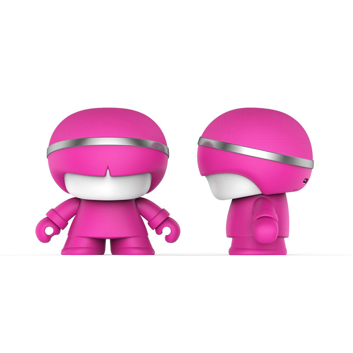 Xoopar Mini Boy Bluetooth Speaker 12 month warranty applies Xoopar Pink