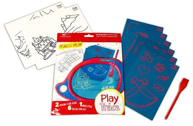Play And Trace Activity Pack - Princess Dream