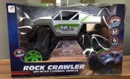 Large BEAST OVERSIZED RC Silver Rock Crawler 3 month warranty applies Tech Outlet