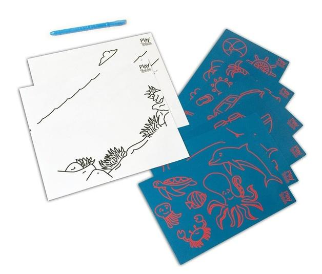 Play And Trace Activity Pack - Sea Life