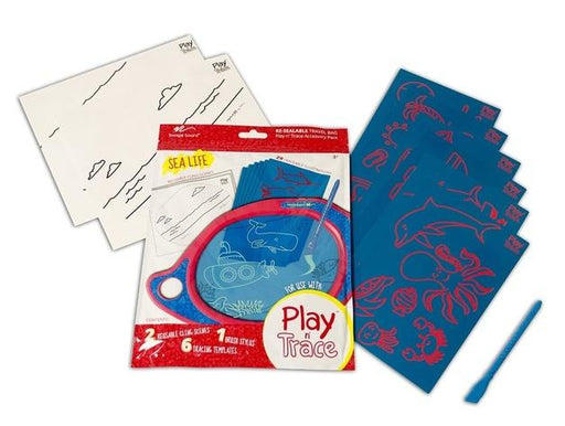Play And Trace Activity Pack - Sea Life 3 month warranty applies Boogie Board