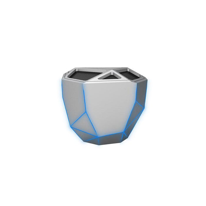 Xoopar GEO Wireless Bluetooth Speaker : Silver 12 month warranty applies Xoopar