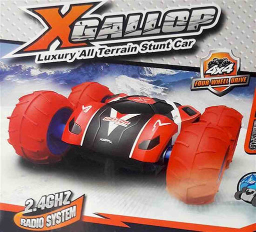 X Gallop all terrain stunt car