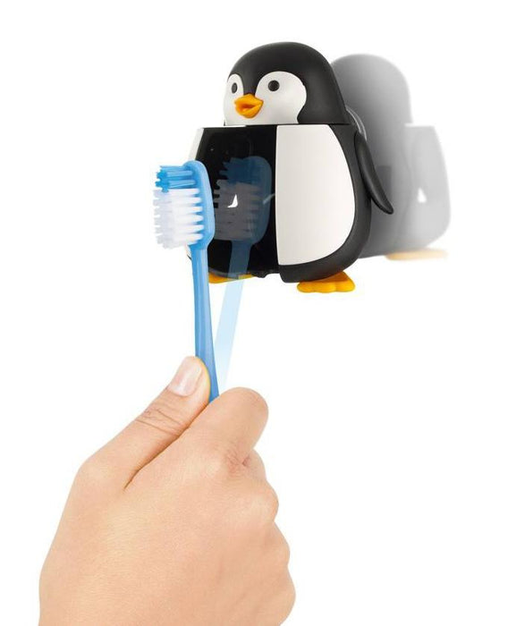 Flipper PENGUIN Children's Toothbrush holder 12 month warranty applies Flipper
