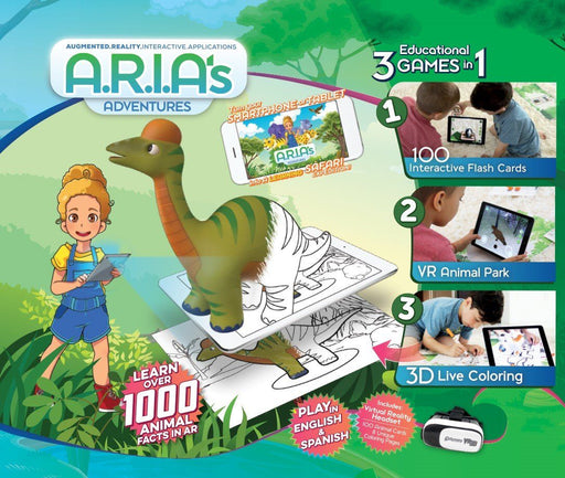 ARIA's Adventures Educational Gaming System - Animal Adventures