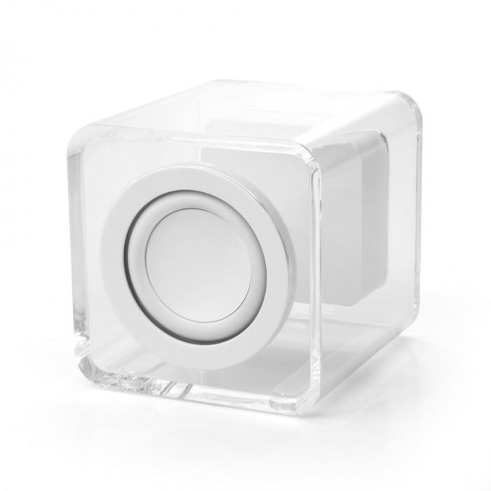 Ye!! Clearcube Transparent Speaker - White 12 month warranty applies Tech Outlet