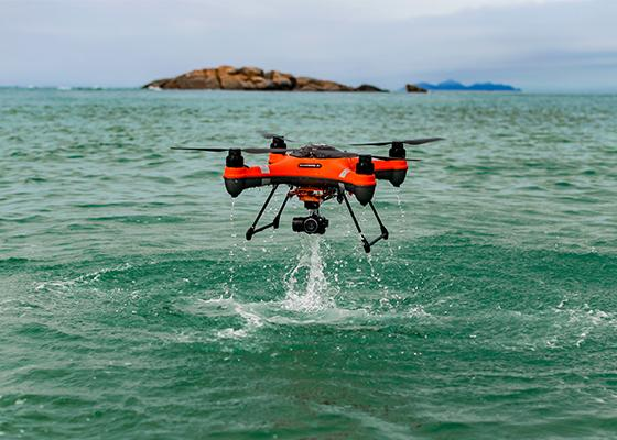 Splashdrone 3+ PRO Model Drone (with 4K Camera & Gimbal) - NZ Version