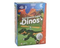 Play Steam - Band Powered Copter - Dinos 3 month warranty applies Playsteam