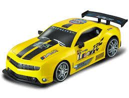 Yellow Chevy Camaro RC Touring Car : Large 1:12 Size