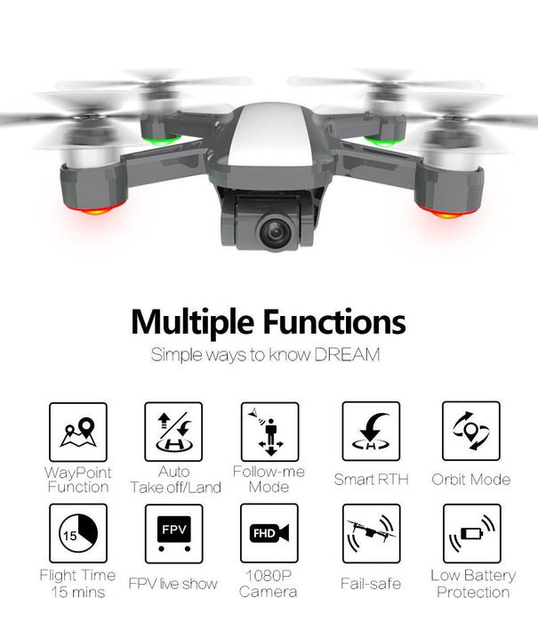 X9 Mark 2 Drone with Stabilized Gimbal & HD Camera