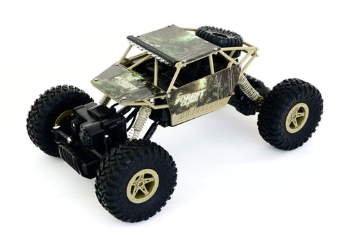 HB Toys Rock Crawler RC 4WD Off Roader Car Green