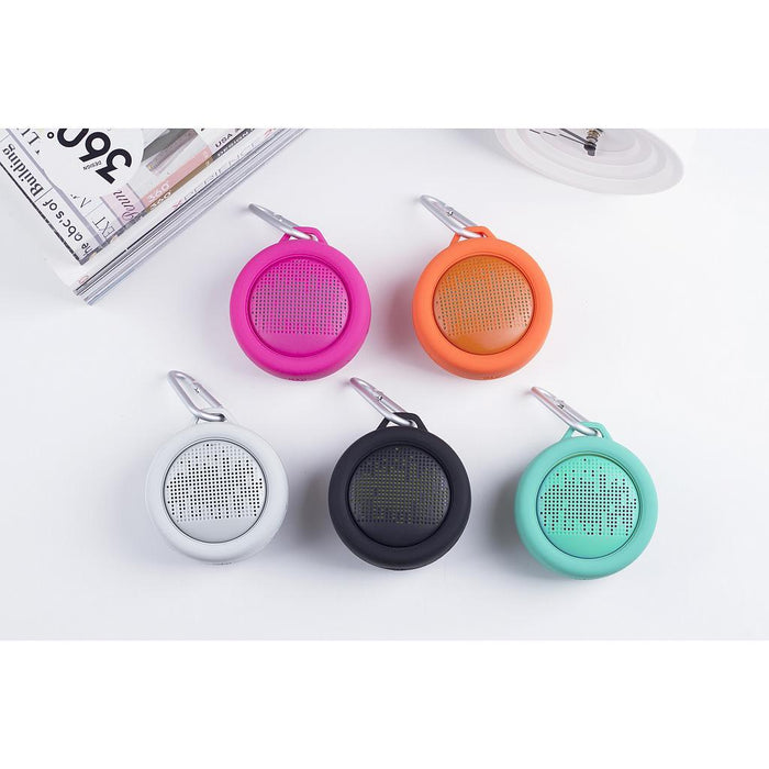 Xoopar Splash Pop Water Resistant Bluetooth Speaker : Great for the Shower & Poolside 12 month warranty applies Xoopar