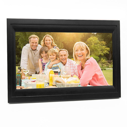 "13"" WIFI Cloud Based Digital Photo Frame (Black Frame) - Upload Photos from anywhere in the world"