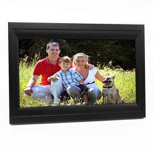 "10"" WIFI Cloud Based Digital Photo Frame (Black Frame) - Upload Photos from anywhere in the world"