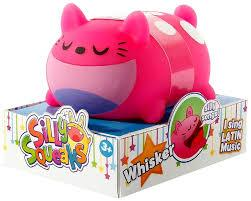 Silly Squeaks Squishy Musical Toy - Whisker