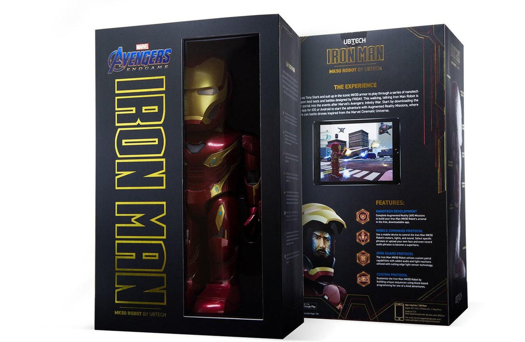 Iron Man MK50 Robot by UBTECH