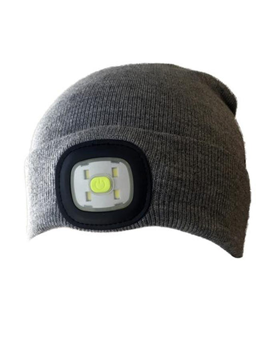 LED Beanie with High Power Output 200 Lumen 12 month warranty applies JCMatthew