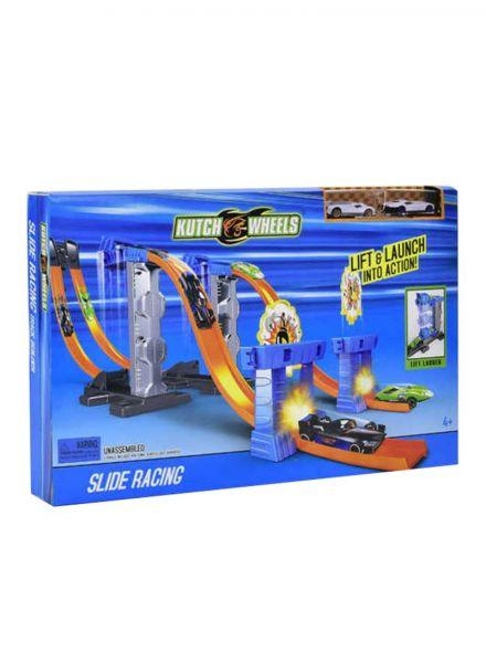 Kutch Wheels Racing Car Track set 3 month warranty applies Tech Outlet